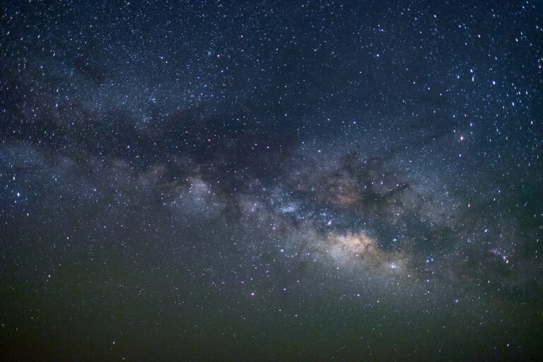 star photography of the milky way