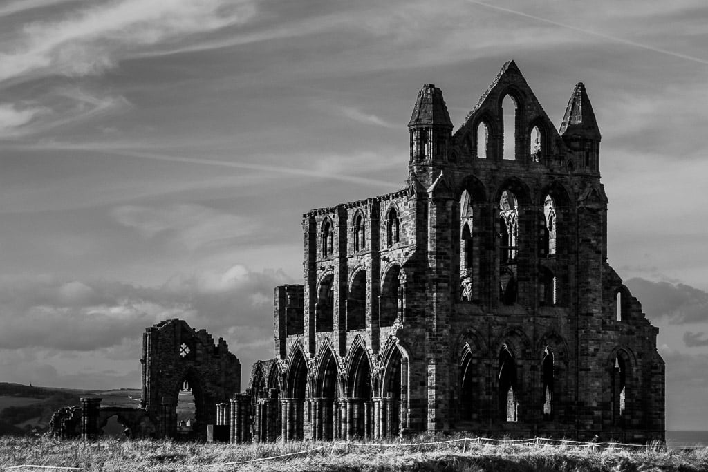 Whitby Abbey in North Yorkshre