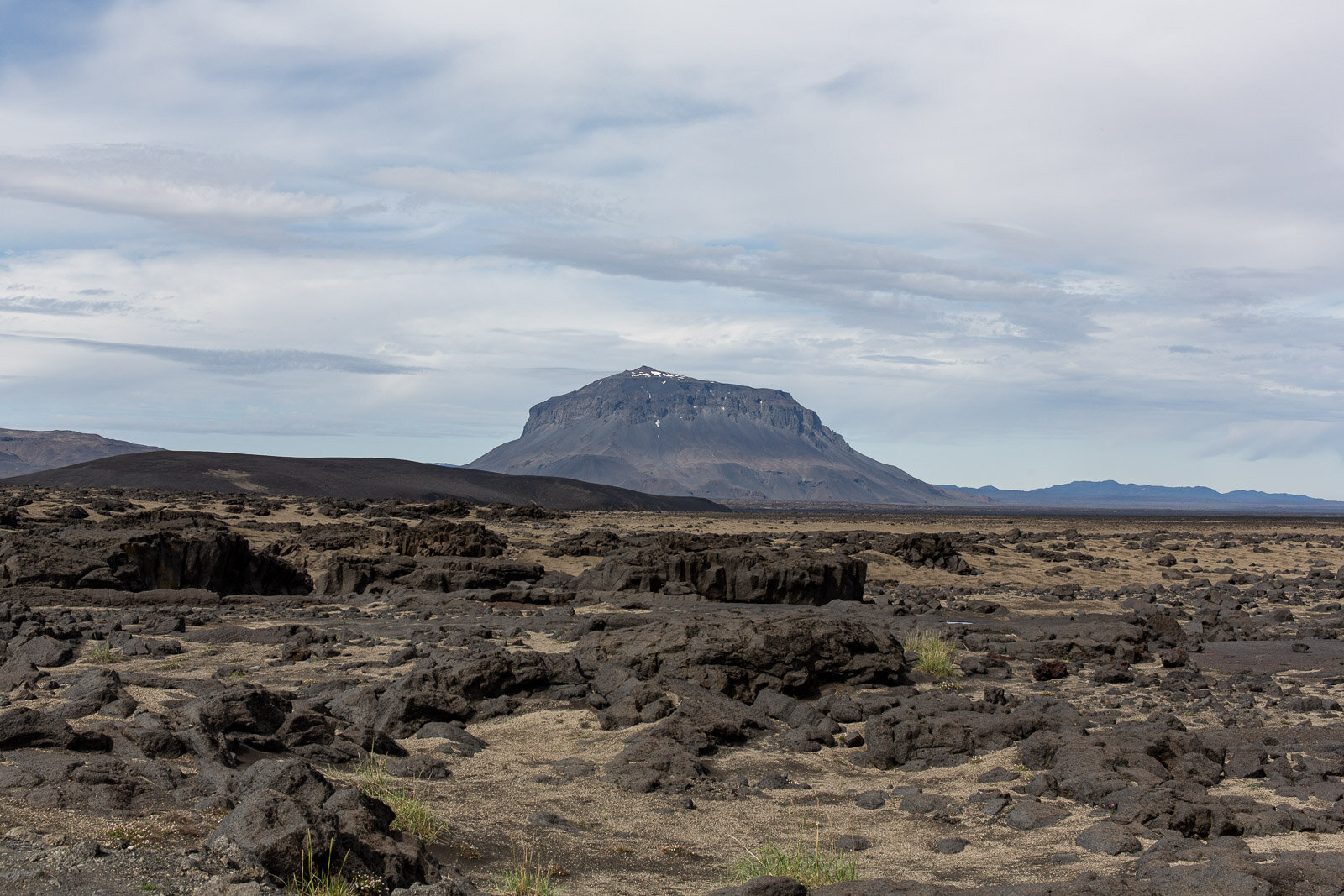 a large mountain in Iceland