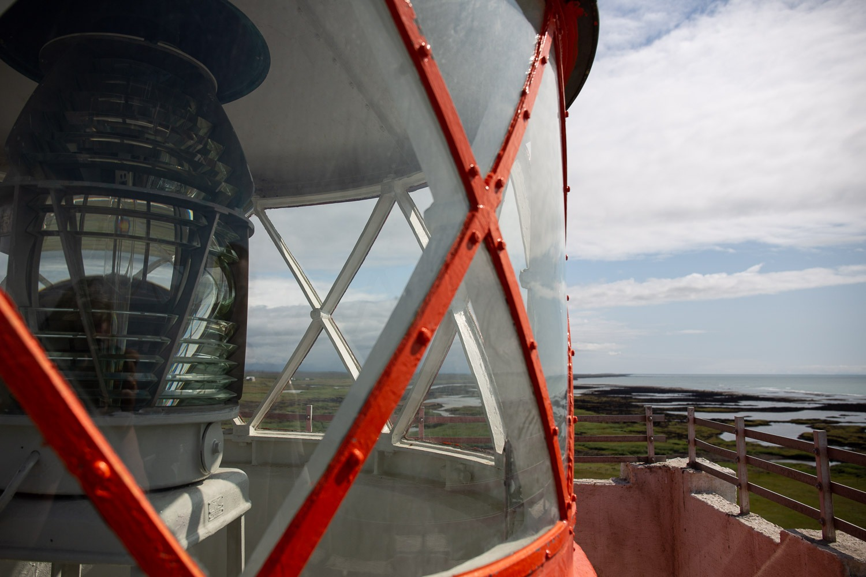 Knarrarosviti the first reinforced concrete lighthouse in Iceland