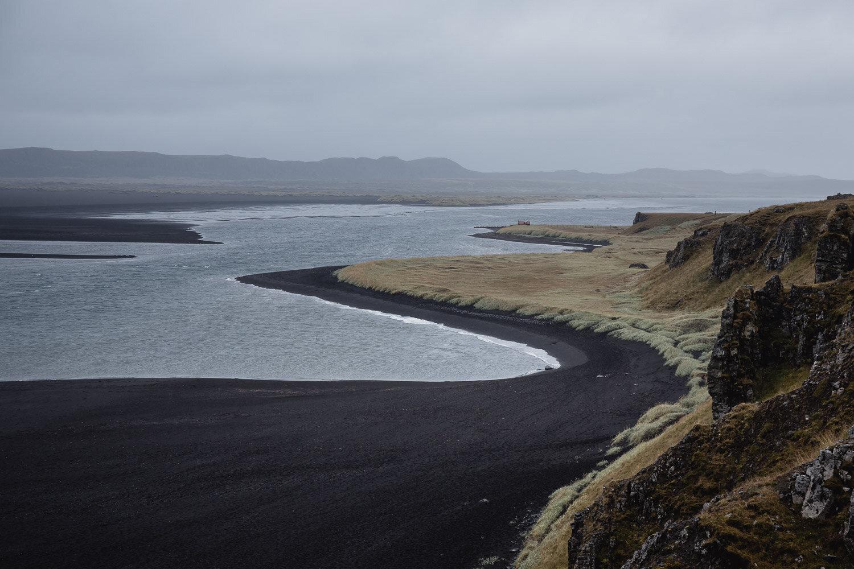 Hvítserkur Beach in Iceland on the Arctic Coast Way