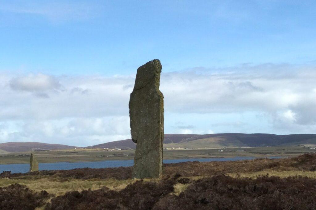 single standing stone