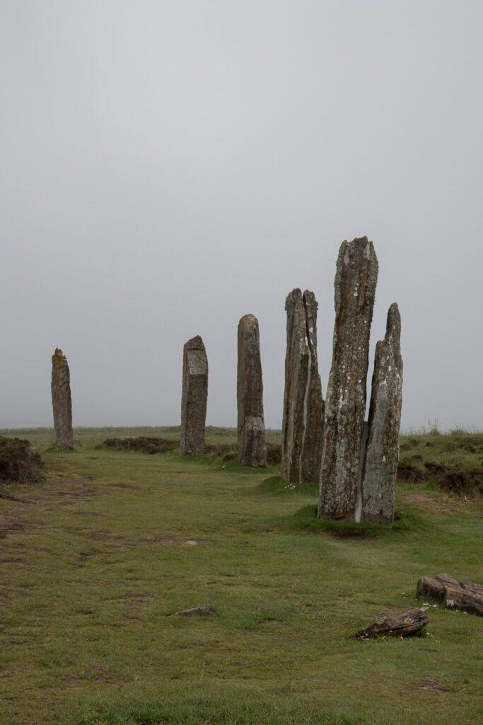 split stone circle
