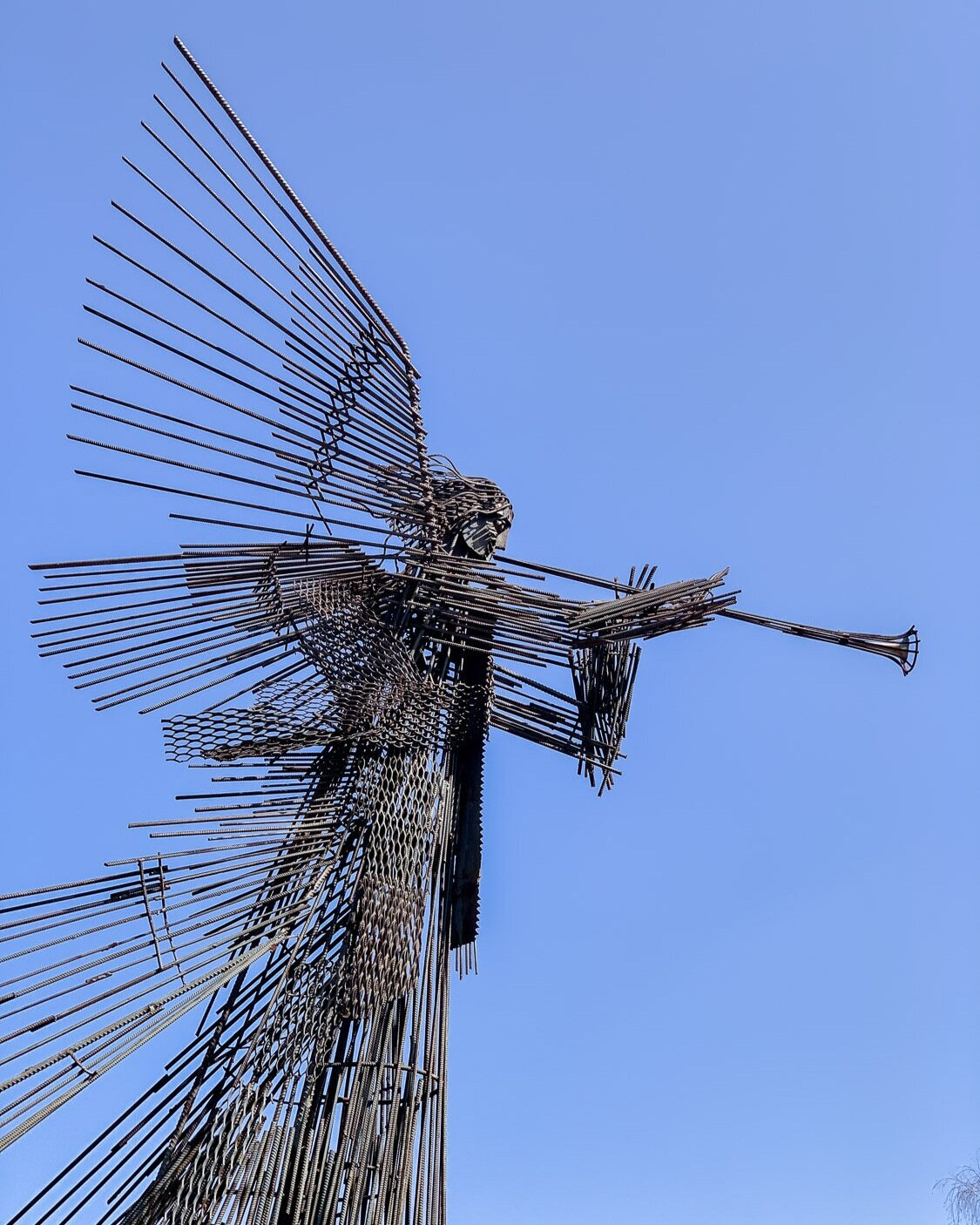 Monument of the Third Angel in Chernobyl