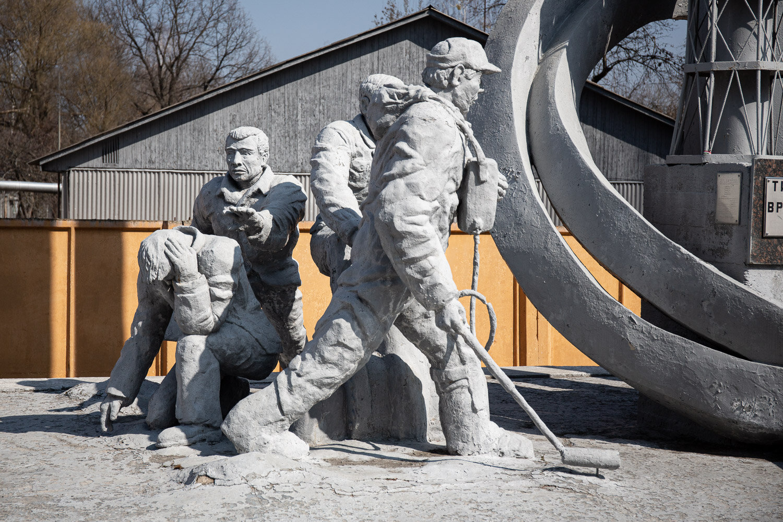 Monument to those who saved the world liquidators
