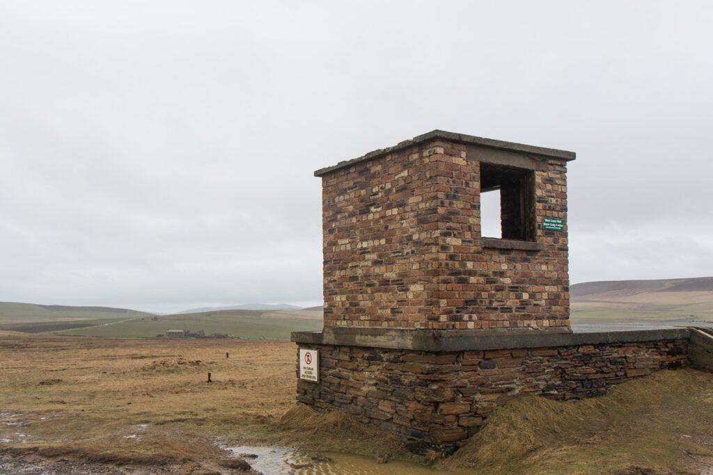 brick built watch tower