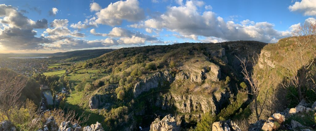 views from Cheddar gorge