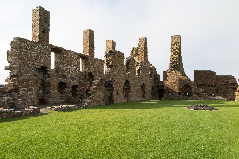 Ruined palace walls