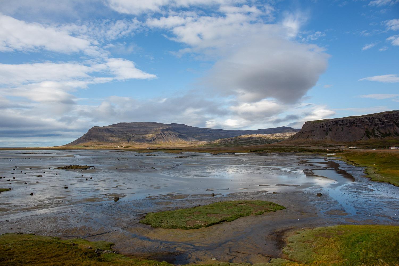 low tide in Iceland