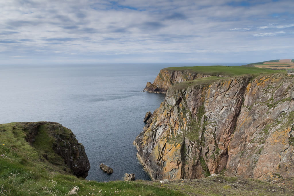 Gallie Craigs the most south westerly rocks in Scotland