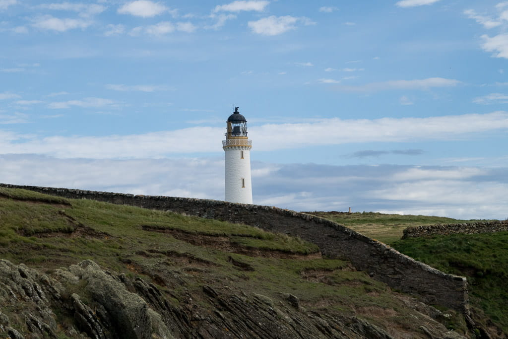 Mull of Galloway lighthouse tower