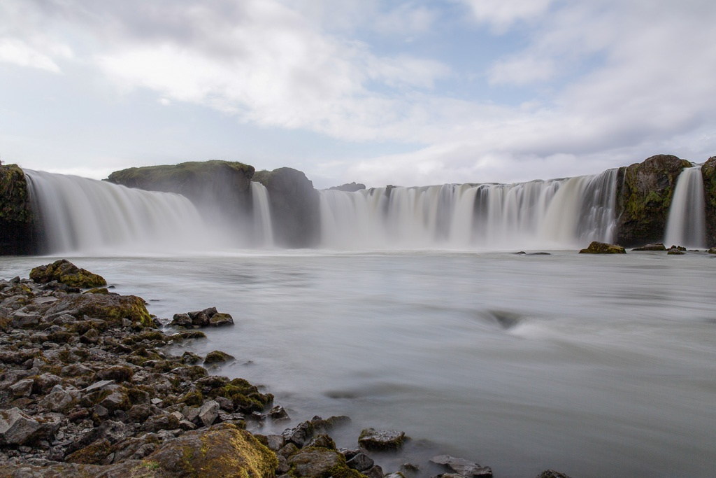 Goðafoss waterfall in Iceland