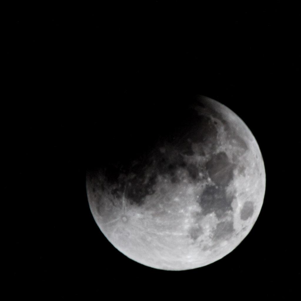 start of lunar eclipse