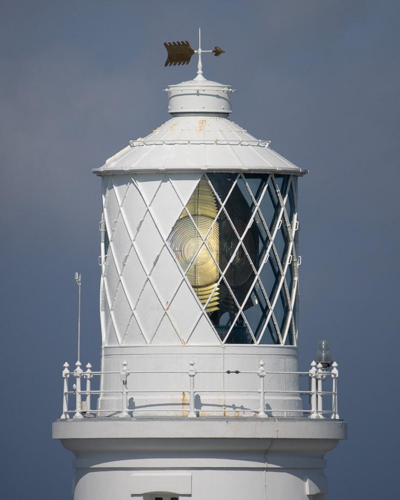 lantern of a lighthouse